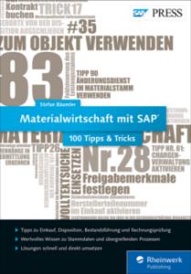 Materialwirtschaft mit SAP − 100 Tipps & Tricks